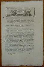 BL n°300 / Contributions et dons pour la guerre contre l'Angleterre  / 1803