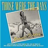 Those Were the Days: Summer Holiday 2xCD Album Frank Sinatra/Andy Williams