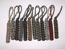 Wholesale Lot Paracord Lanyard Key chains Key Fobs Sets of 10