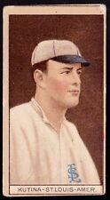 1912 T207 BROADLEAF Tobacco Kutina St Louis Tough Short Print NO Creases!