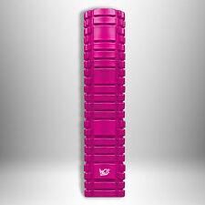 61cm Grid Foam Roller Trigger Point Gym Pilates Massage Physio Injury Yoga -Pink