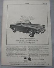 1964 Austin Healey Sprite Mk III Original advert
