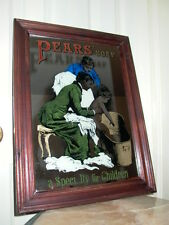 """Pears Soap """"A Specialty For Children"""" Mirror Advertising Sign"""