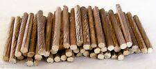 N Scale 50 Pieces 2-1/4+- Very Beautifully Customed Detailed Logs Made Real Wood