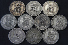 George V 1920-1927 Sixpence Full Set Including both 1925 & both 1926