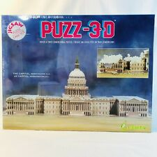 Wrebbit PUZZ-3D US Capitol Building Washington DC 690 Pc New Sealed
