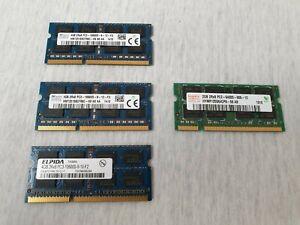 DELL Notebook RAM 12GB 3x 4GB DDR3 PC3-12800 1333 MHz + 2GB DDR2 6400 Speicher