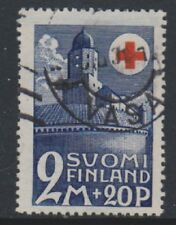 Finland - 1931, 2m + 20p Red Cross stamp - G/U - SG 284