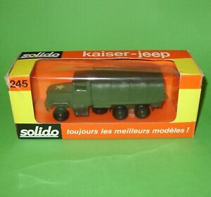 Solido / 245 US Kaiser Jeep M34 6x6 Truck / Boxed