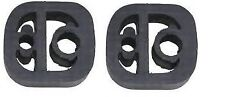 x2 EXHAUST BACK BOX RUBBER MOUNT HANGER fits CITROEN BERLINGO PEUGEOT PARTNER