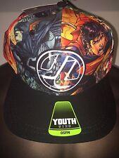 BATMAN vs Superman THE Flash JLA movie COMIC Book BOYS Youth OSFM NEW HAT Cap