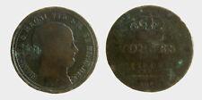 pci5313) NAPOLI - Francesco I di Borbone (1825-1830) - 5 Tornesi 1827 CORROSIONI