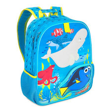 Disney Store Finding Dory Kids Backpack School Bag with Nemo Marlin Hank Destiny