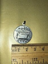 Graduation Charm Vintage Sterling Silver