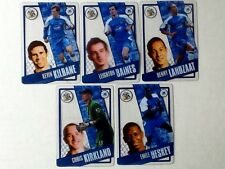 TOPPS PREMIER LEAGUE 2006/07 I-CARDS. FULL SET OF ALL 5 WIGAN ATHLETIC