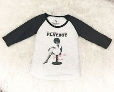 Playboy Couture For Rid.dle Baseball Tee Size M