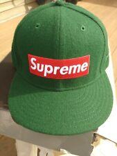 "supreme hat authentic,wool,2010 retro,7-1/2"""