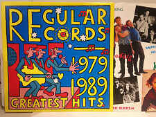 REGULAR RECORDS 1979-1989 GREATEST HITS LP - ICEHOUSE, ELECTRIC PANDAS OZ AUSSIE
