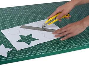 1 x A2 PAVO PREMIUM High-Quality Self Healing Cutting Mat, PVC, Green