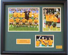 New Socceroos Australia Signed Limited Edition Memorabilia Framed