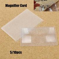 brieftasche. vergrößerung werkzeug kreditkarten - größe 3 x magnifier lupe