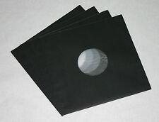 100 St. schwarze LP/Maxi Singles Schallplatten Innenhüllen, gefüttert