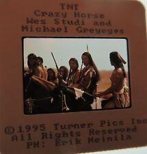 CRAZY HORSE CAST Michael Greyeyes Peter Horton Ned Beatty  ORIGINAL SLIDE 12