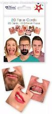 Face Mats Beer Coasters Funny Joke Faces Drinking Game Pub Fun Hen Stag Party