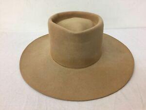 Men's Resistol Brown Stagecoach Western Hat 7 3/8