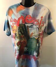 Genesis Tie Dye Tour Shirt 2007 Turn It On Again Medium Concert Shirt