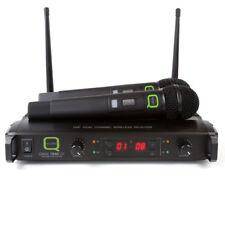 Q-Audio QWM1940 palmare 16 canali sistema microfono wireless UHF