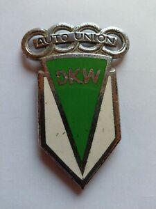 Seltenes DKW Auto Union Motorrad Tankemblem