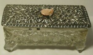 Box 84 Silver Coral Crystal Imperial Russia 1885