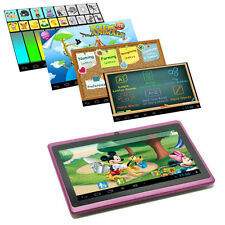 "7"" Google Android 4.4 Tablet PC MID for Kids Children Dual Core 1.5GHz 4GB Pink"