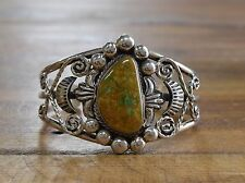 Bracelet By Robert Shakey Bold Sterling Silver Turquoise