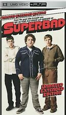 Superbad UMD Video, PSP, 2007, Unrated Extended Edition Comedy Movie