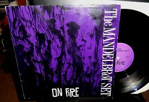 THE MANDELBROT SET On Fire 12 INCH 3-TRK 1992 Pure PR 0008 great indie rock Hull