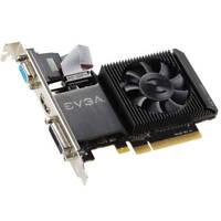 EVGA NVIDIA GeForce GT 710 1GB DDR3 VGA/DVI/HDMI Low Profile pci-e Video