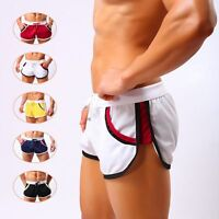 Men's Sexy Sport Bodybuilding Shorts Fitness Running Gym Casual Short Pants