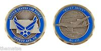 """OFFUTT AIR FORCE BASE RIVET JOINT RC-135 1.75"""" CHALLENGE COIN"""