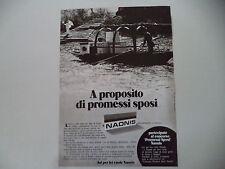 advertising Pubblicità 1973 NAONIS LAVATRICE FRIGORIFERO LAVASTOVIGLIE