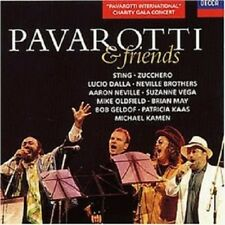 PAVAROTTI/STING/ZUCCHERO/DALLA/VEGA/GELDOF/+ - PAVAROTTI & FRIENDS  CD  NEW+