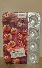 Wilton Petite Jack O Lantern Pumpkin Cake Treats Pan Mold Bite Size Fall