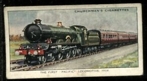 Tobacco Card, Churchman, LANDMARKS IN RAILWAY PROGRESS, 1931, Pacific, #46