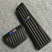 For BMW X5 F15 G05 7 Series 2016-UP Carbon fiber No drill Fuel Brake Pedal Cover