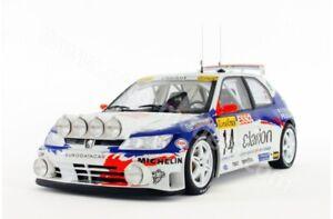 Ottomobile 1/18 Peugeot 306 Maxi  Rally Monte Carlo 1996  F.Delecour
