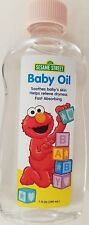Sesame Street Baby Oil Pure & Gentle Moisturizer 7 oz (200 mL)/ Bottle