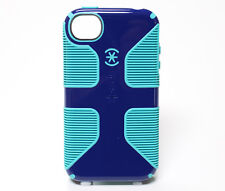 New Speck iPhone 4/4s Case candyshell Grip Hard Shell cover Blue/Green bumper
