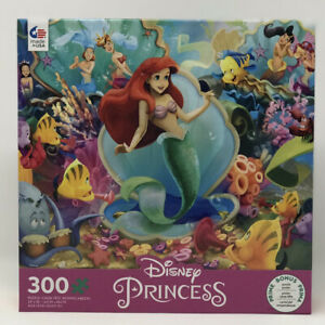 Ceaco Jigsaw Puzzle The Little Mermaid 300 Pieces NEW Disney Princess Series