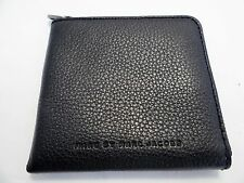 Marc by Marc Jacobs Unisex Half-zip Leather Credit Card Business Card Coin Case
